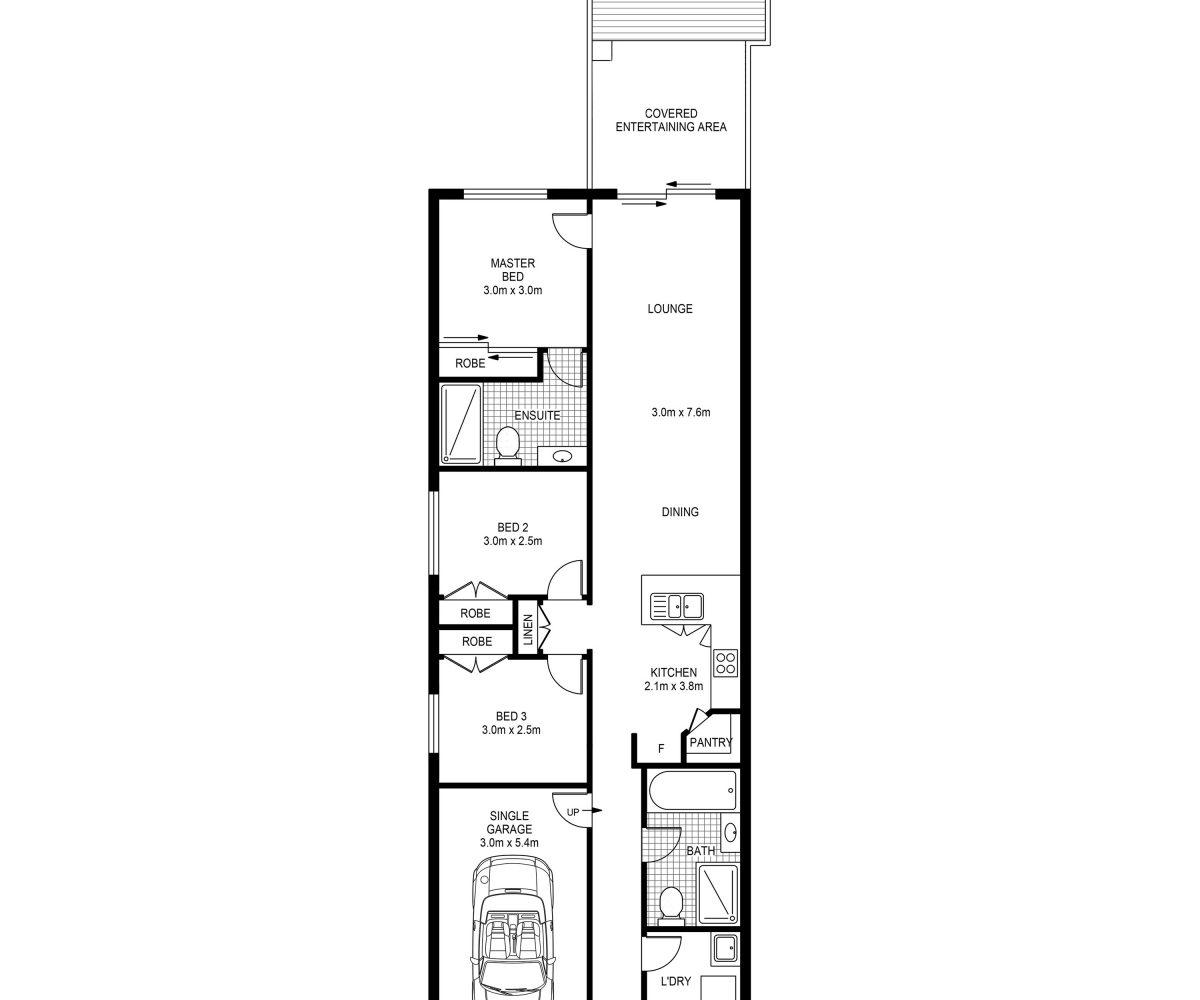 Fowler Street Bardia Floorplan