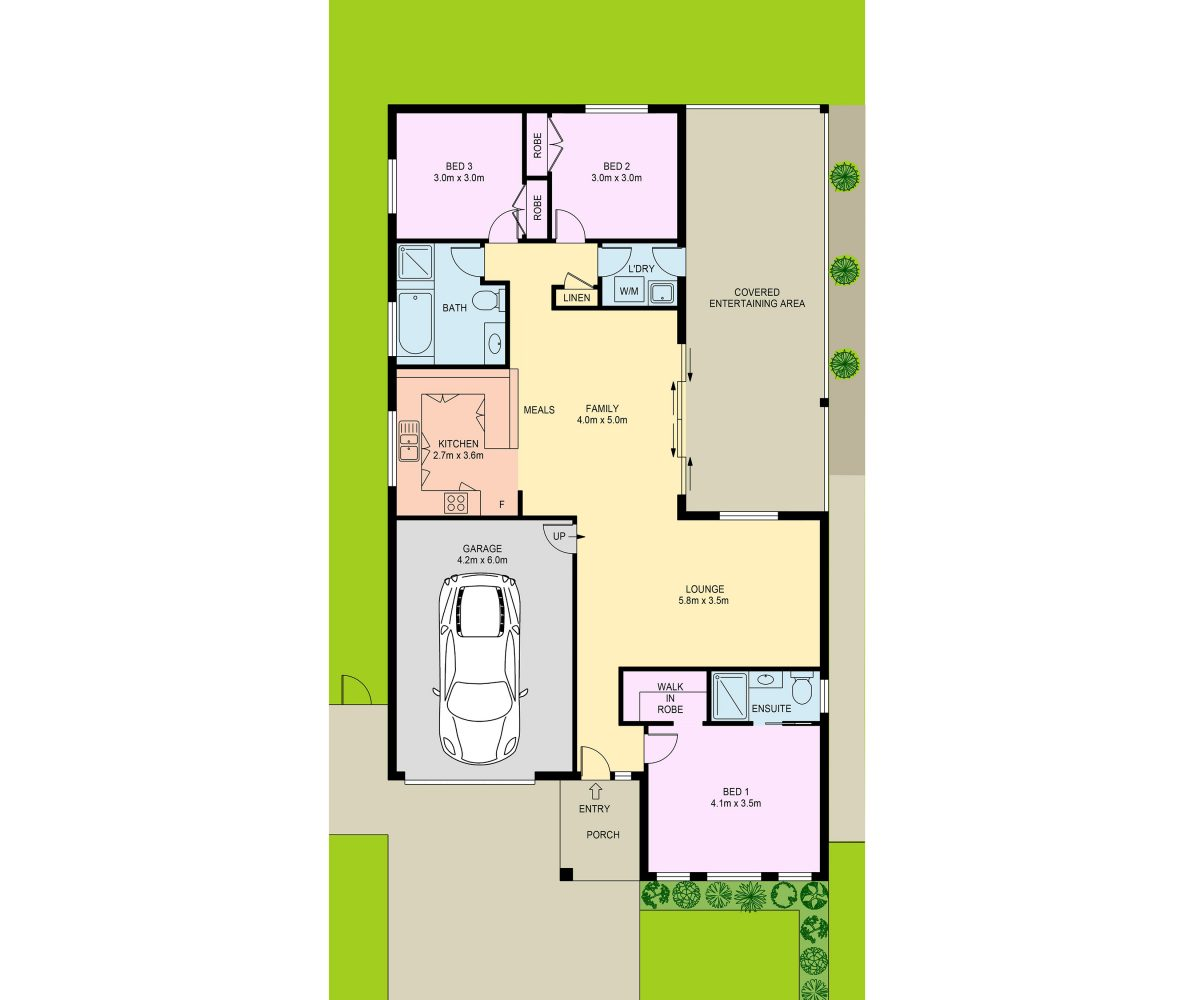 17 Duffy Avenue Gregory Hills floor plan