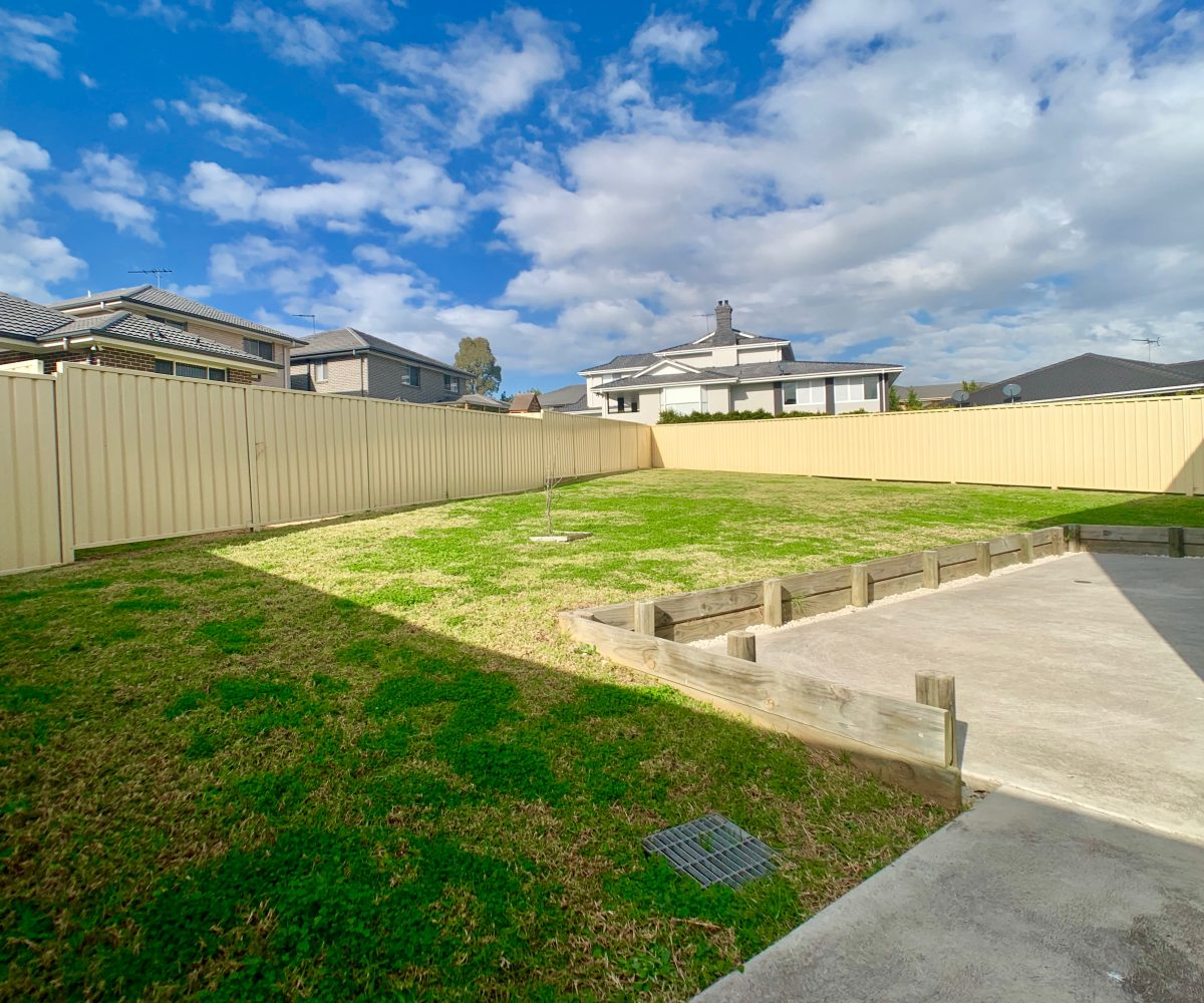 33 Boab Place, Casula - backyard